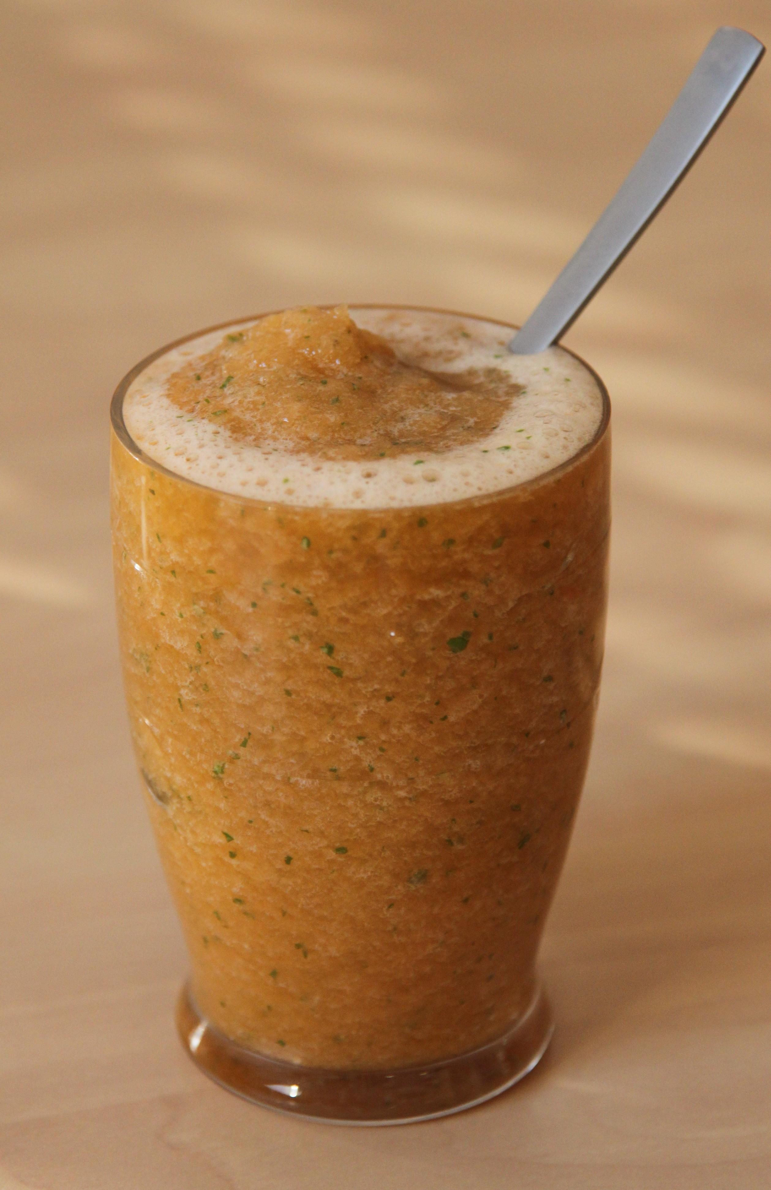 Soupe froide de melon au basilic bocook for Entree froide sympa