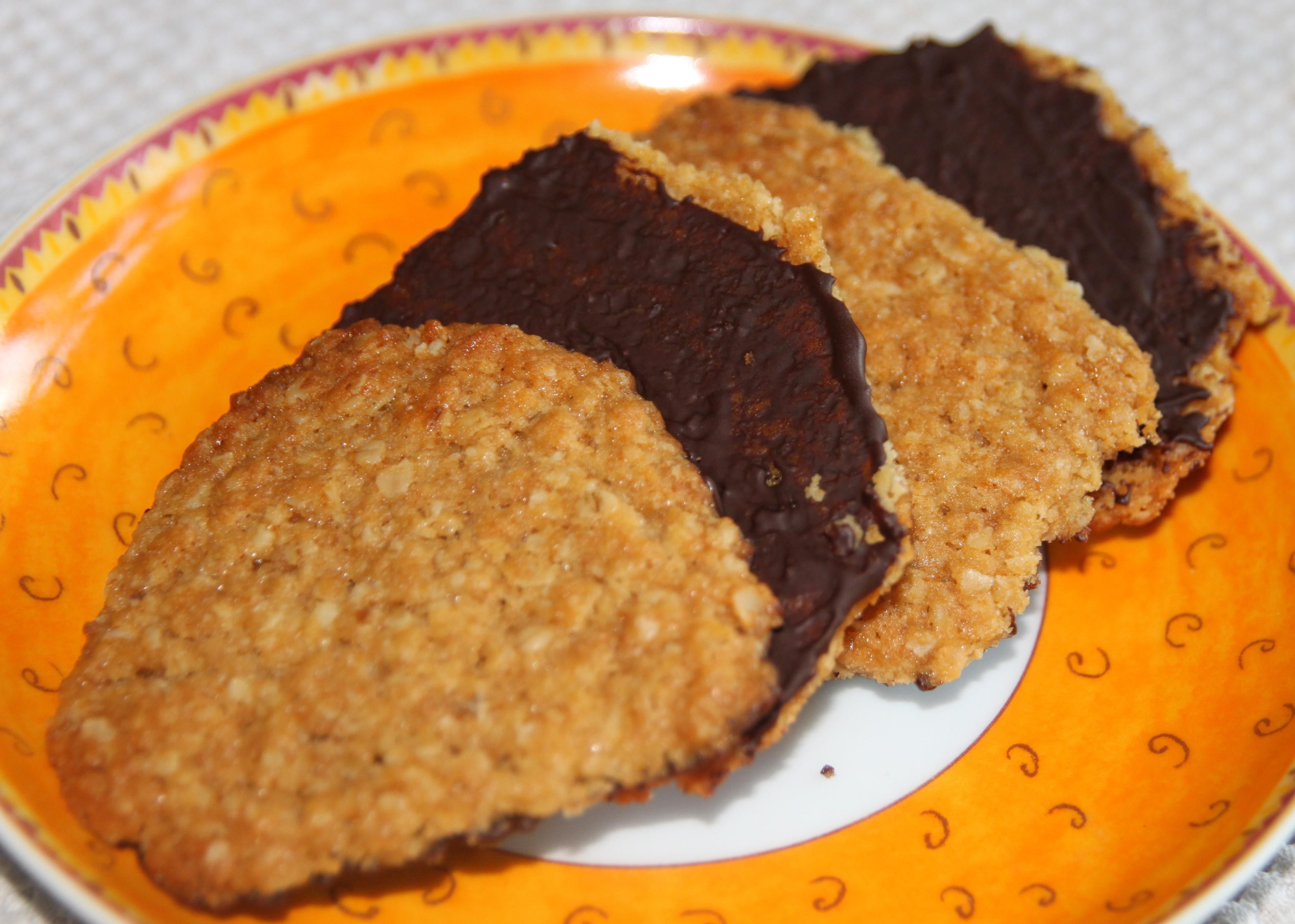 Biscuits aux flocons d avoine miel chocolat un peu comme ceux d ikea bo - Cuillere a miel ikea ...
