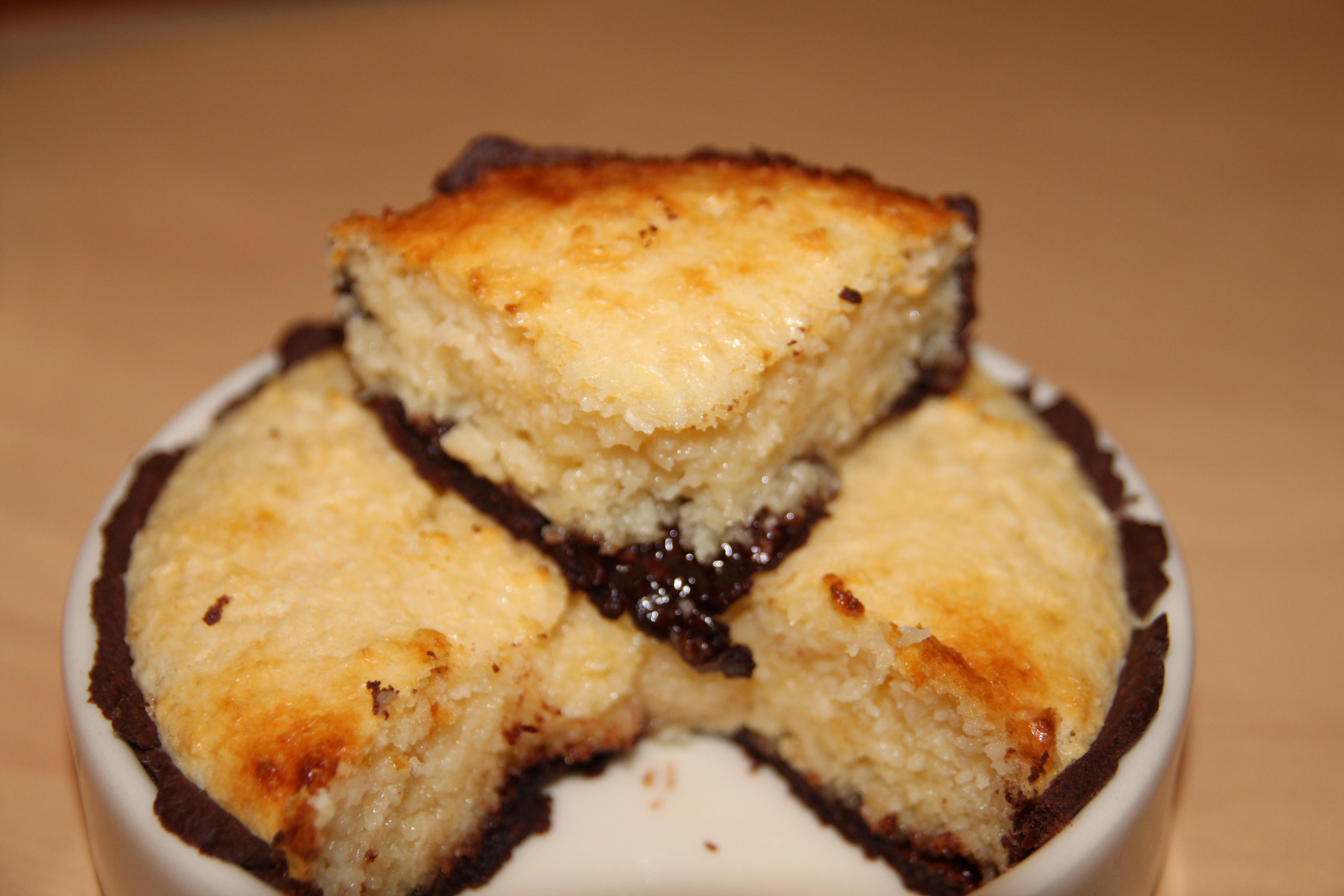 Gateau noix de coco nutella