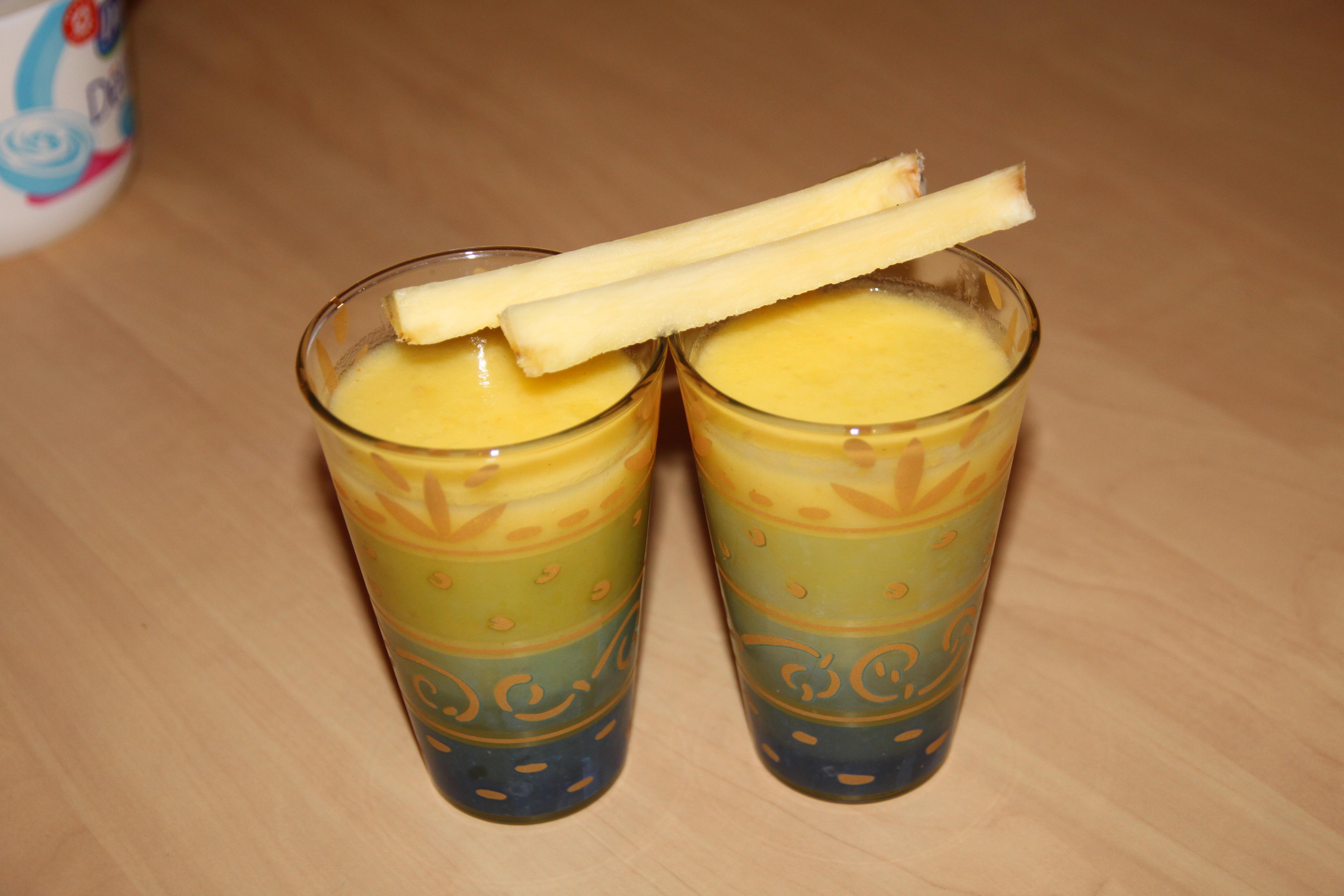 Cocktail au citron vert ananas gingembre et rhum bocook for Cocktail 7cl