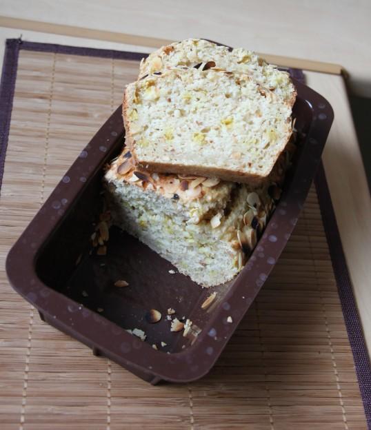 Cake tofu amande citron