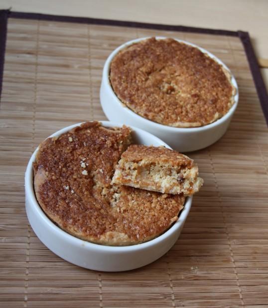 Tartelettes amandines confit abricot