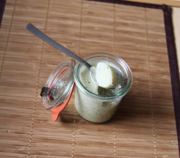 Pannacotta concombre féta
