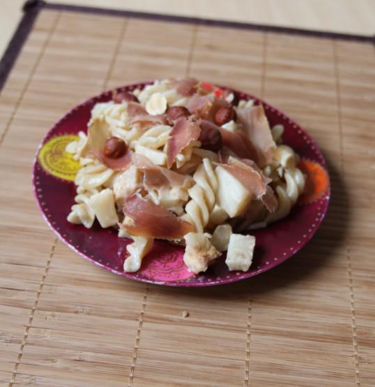 Tortils jambon Serrano noisette