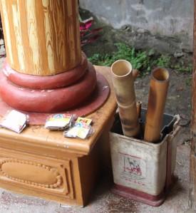 Pipe rituel thé