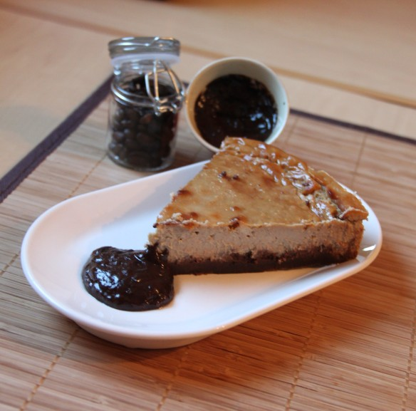 Cheesecake chocolat café