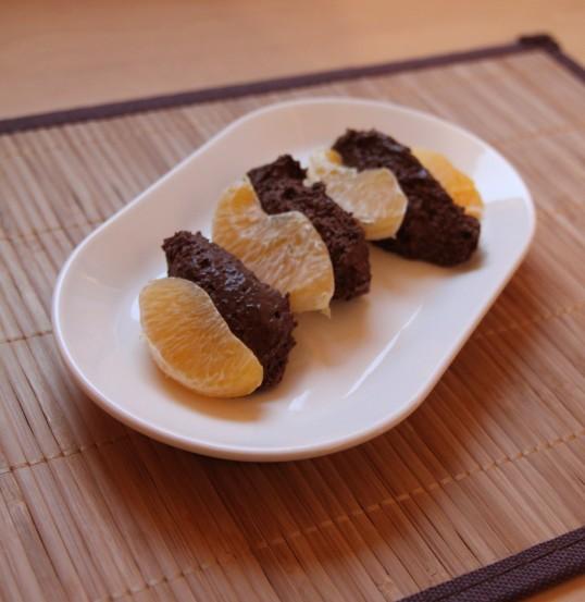 Mousse chocolat clémentine