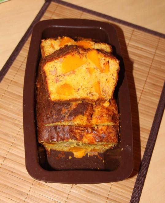 Cake potimarron jambon sec