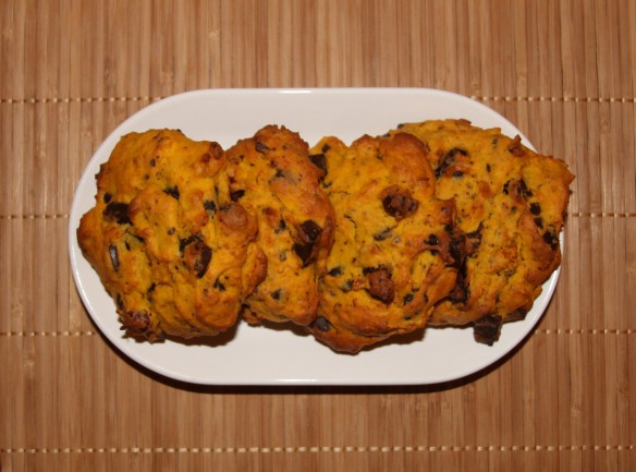 Cookies potimarron chocolat noisette