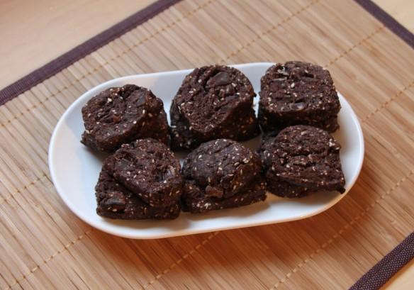 Cookies cacao sésame