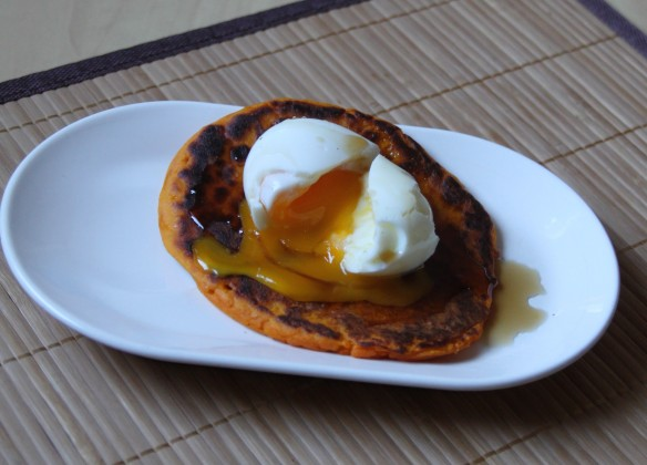 Pancakes courge