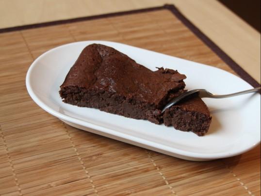 Moelleux au chocolat & poudre d'amande