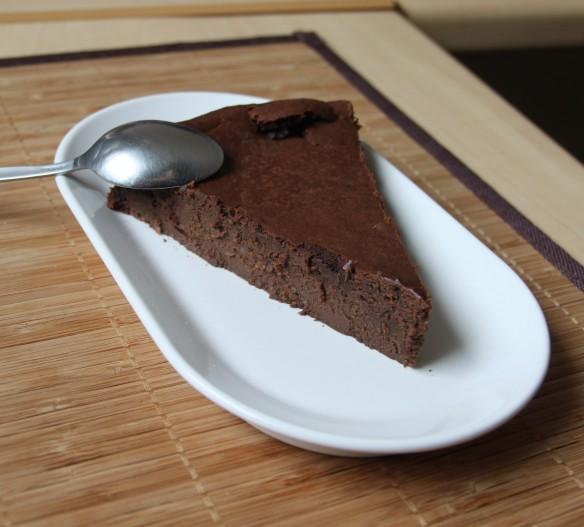 Fondant au chocolat et crème fraîche