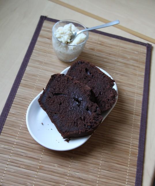 Cake au chocolat de Alain Ducasse