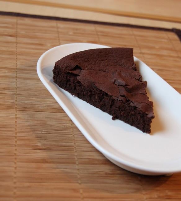 Fondant chocolat cacao sans beurre ni crème
