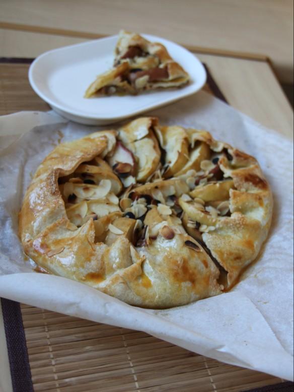 Tarte rustique aux pommes & amande