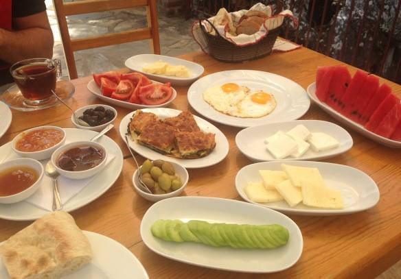 Petit-déjeuner Lac Bafa