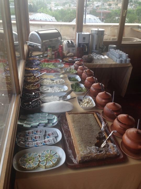 Petit-déjeuner Kappadokya 1