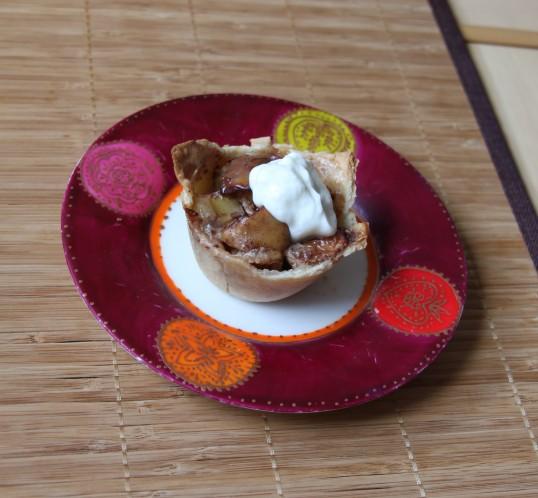 Tartelette aux pommes & cannelle