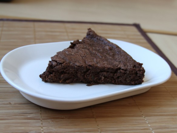 Brownie chocolat courgette