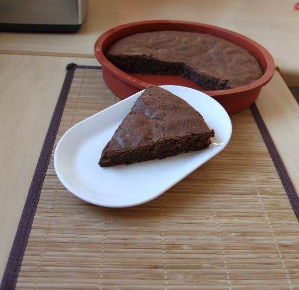 Gâteau chocolat amande