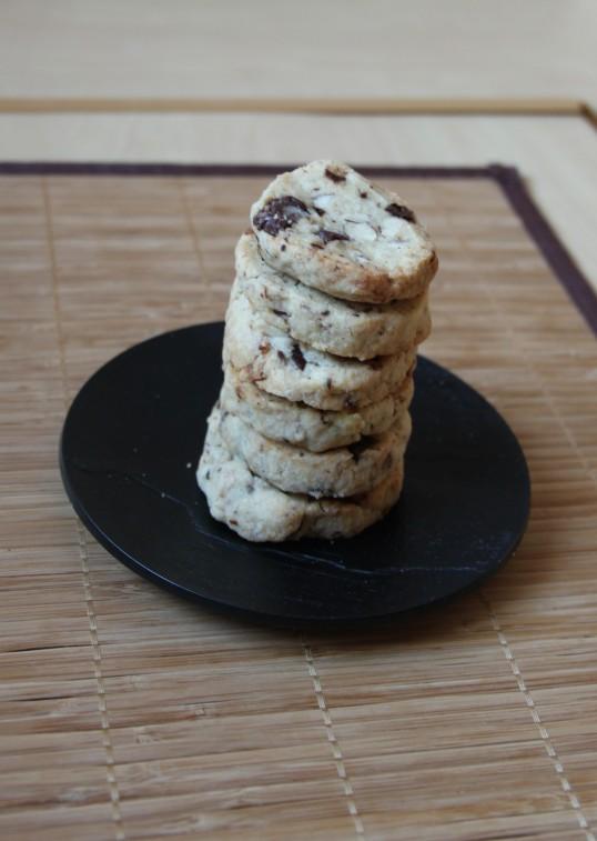 Cookies aux noisettes, sirop d'érable et pépites de chocolat