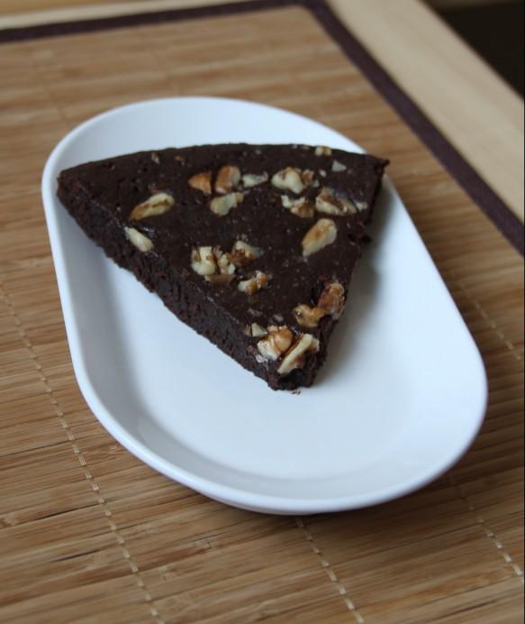Brownies fondant aux noix