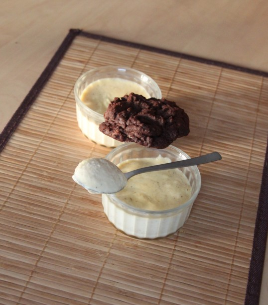 Crème mascarpone vanillée