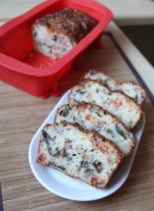 Cake aubergine et chorizo