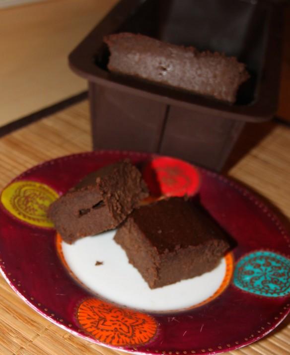 Fondant au chocolat et purée de châtaigne