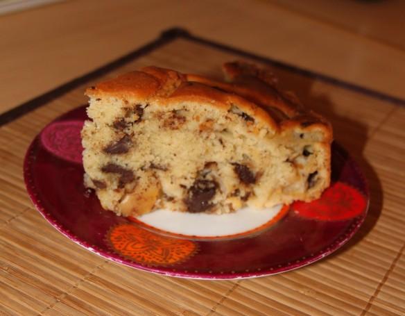 Gâteau moelleux aux pommes, mascarpone & pépites de chocolat