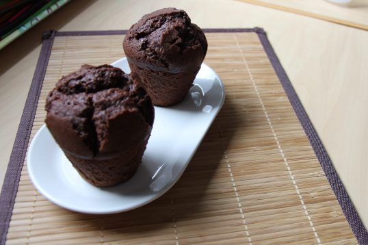 Muffin au chocolat & yaourt maison