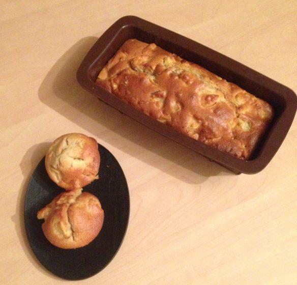 Gâteau moelleux aux pommes et yaourt au lait de riz et chèvre