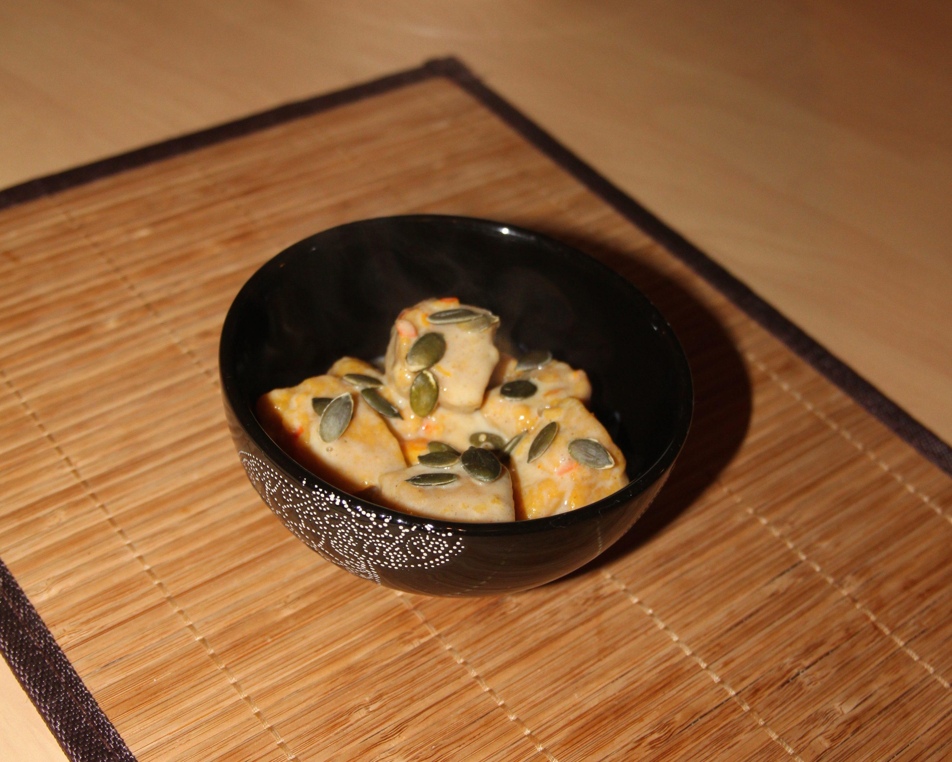 Gnocchis de potimarron aux zestes d'orange