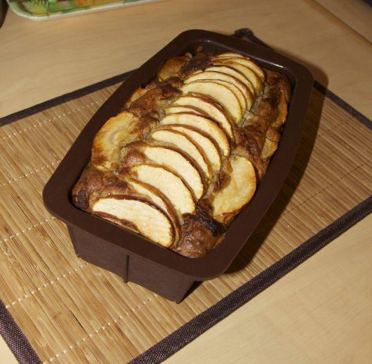 Cake sucré salé pomme Cabécou